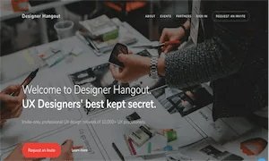 best-ux-design-communities-groups-Designer Hangout