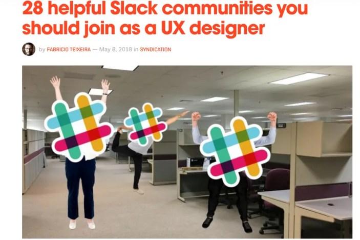 Slack communities