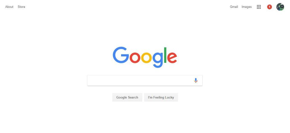 graphic design google homepage