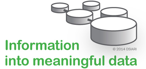 Transforming information into meaningful data