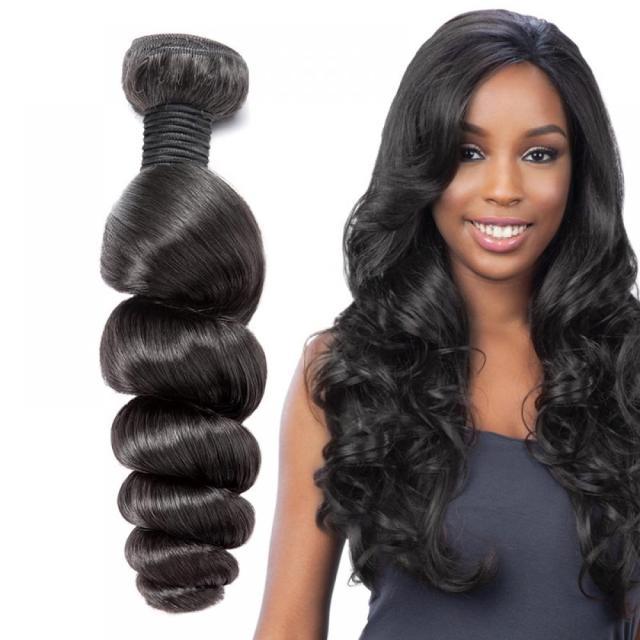 virgin peruvian loose wave hair bundles