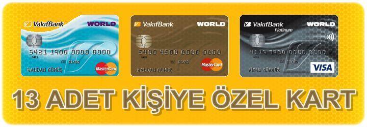 Vakıfbank Kredi Kartı Başvurusu (İnternetten Anında Worldcard)