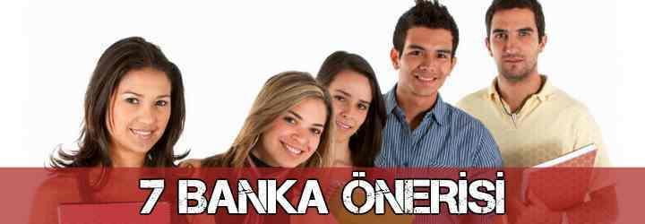 Öğrenciye Kredi Veren 7 Banka Listesi 2018