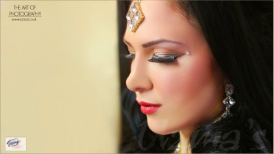 night makeup of Asian Bride UK