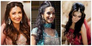 Asian, Indian, Pakistani Brides Hair Style Ideas