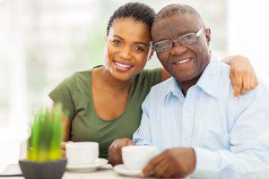 Caregiver Providing Home Care Services