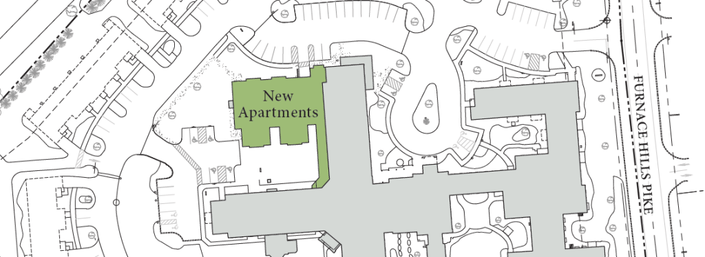 Overhead of New Apartments