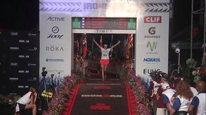 Image: Ironman Kona 2017 finish line