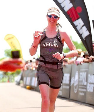 Image: Jennifer Clark - Vegan Athlete