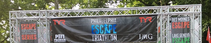TBT Race Report:  '17 Philadelphia Escape Olympic Triathlon