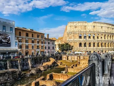 ancient architecture arena buildings