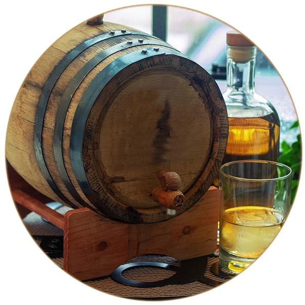 V-SINNE Aged Gin Maulbeerfass