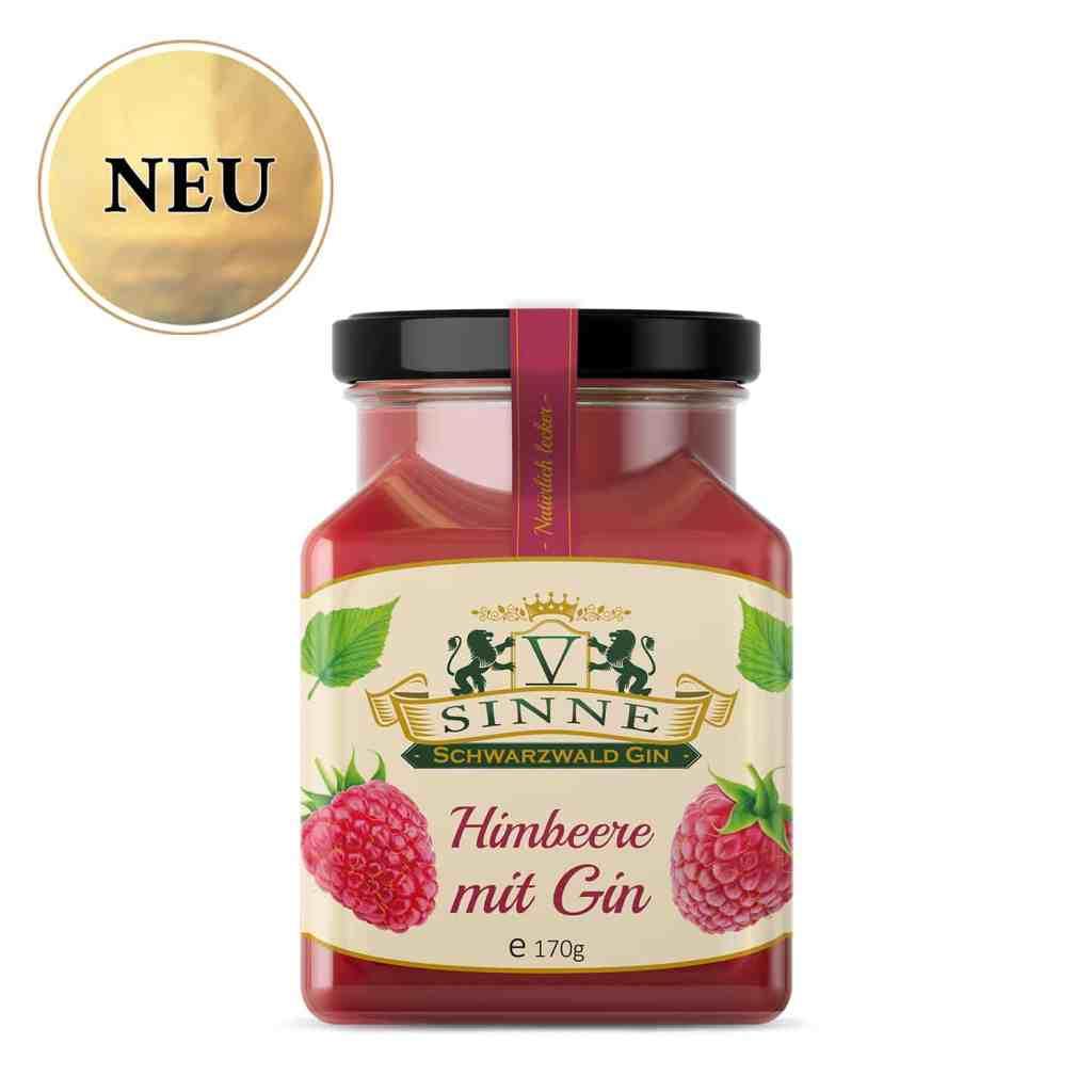 Himbeer-Gin-Konfitüre