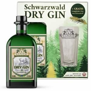 V-SINNE Dry Gin Geschenkset mit Ritzenhoff V-SINNE Longdrink Glas