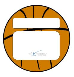 2012 Jimmy V Basketballs - Generic