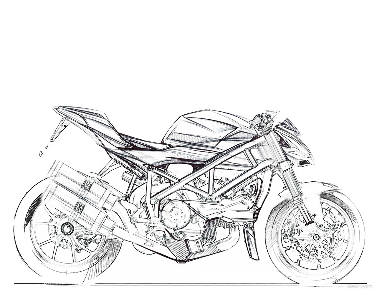 Ducati Streetfigther X C85