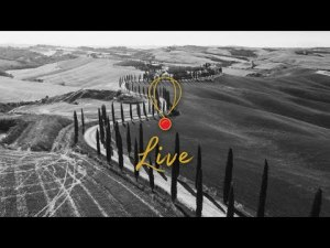 🔴 LIVE ON THE ROAD: Val D'Orcia, Toscana