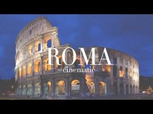 ROMA Caput Mundi! • (Cinematic Travel Video)   Sony a6400 + Sony 16-70 f/4 HLG2 Profile