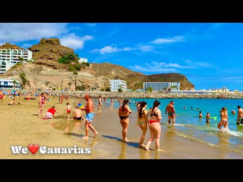 Gran Canaria Puerto Rico Beach Life April 2021 | We❤️Canarias