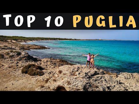 PUGLIA TOP 10 | Tra spiagge, borghi e città, 10 posti DA VEDERE in Puglia! (Guida di viaggio)