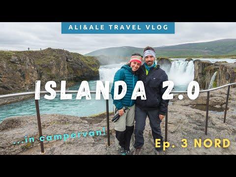 GIRO D'ISLANDA in Campervan! Ep. 3: NORD – VLOG di Viaggio Luglio 2020
