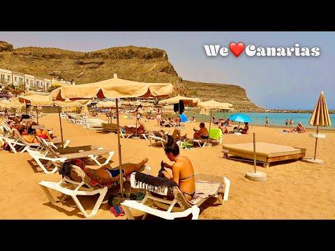 Gran Canaria Puerto de Mogan 29°C Calima Weather Special   We❤️Canarias