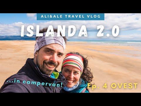 GIRO D'ISLANDA in Campervan! Ep. 4: OVEST – VLOG di Viaggio Luglio 2020