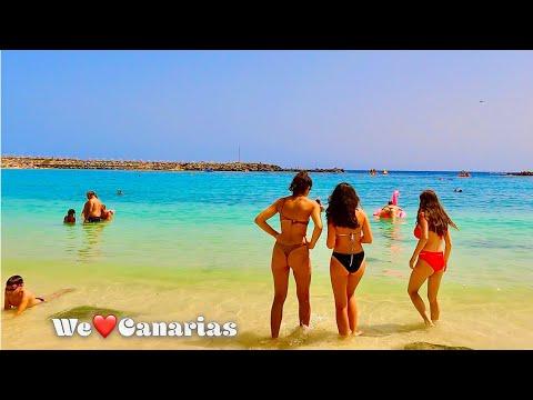 Gran Canaria Amadores Summer Beach Life July 2021   We❤️Canarias