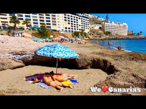 Gran Canaria Patalavaca Beach + Playa del Cura Beachwalk | We❤️Canarias