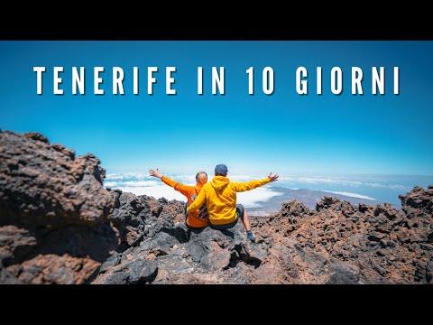 Visitare 🇪🇸 TENERIFE 🇪🇸 in 10 giorni | primo VIAGGIO del 2021!! [CANARIE Vlog]