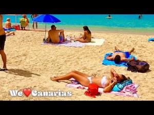 Gran Canaria Playa de Amadores Beach Life September 2021   We❤️Canarias