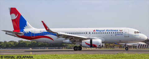 Nepal Airlines Decals V1 Decals
