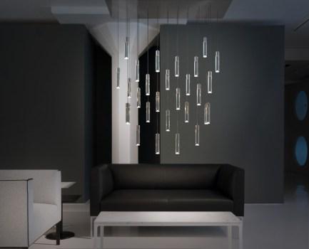 Portfolio 34428 4 Light Brushed Nickel Led Chandelier Source V2com Newswire Design Architecture Lifestyle Press Kit