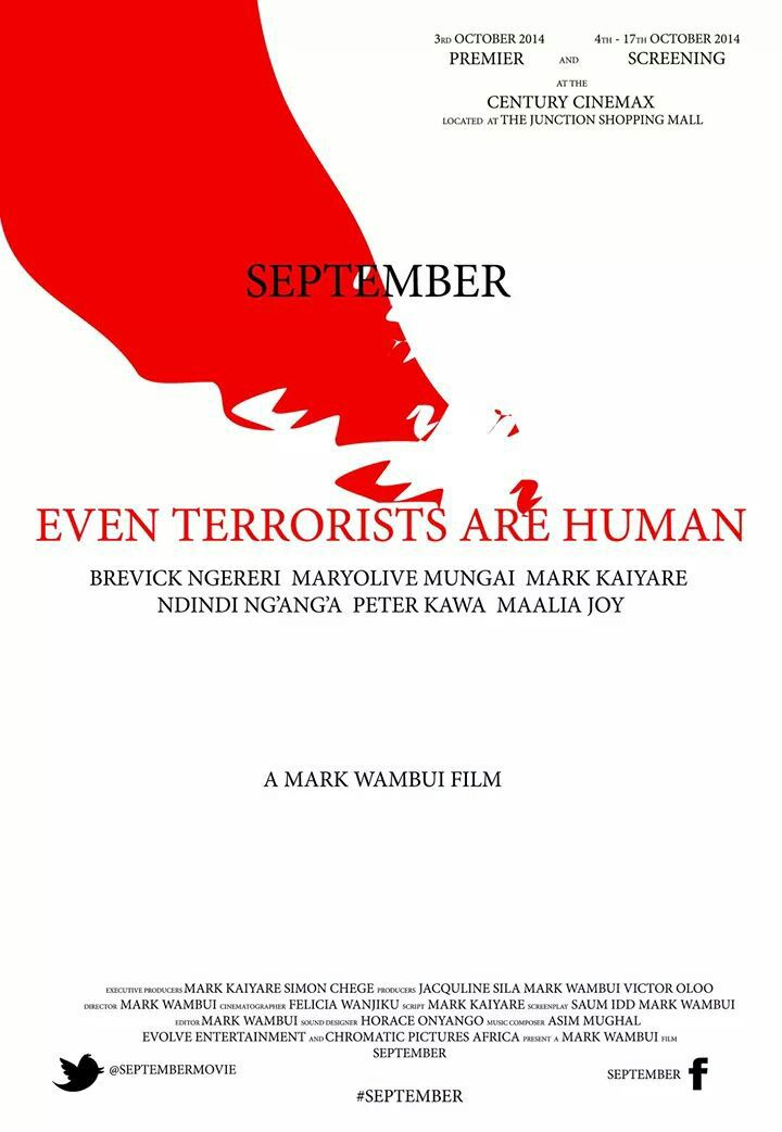 September, A Mark Wambui Film - Poster
