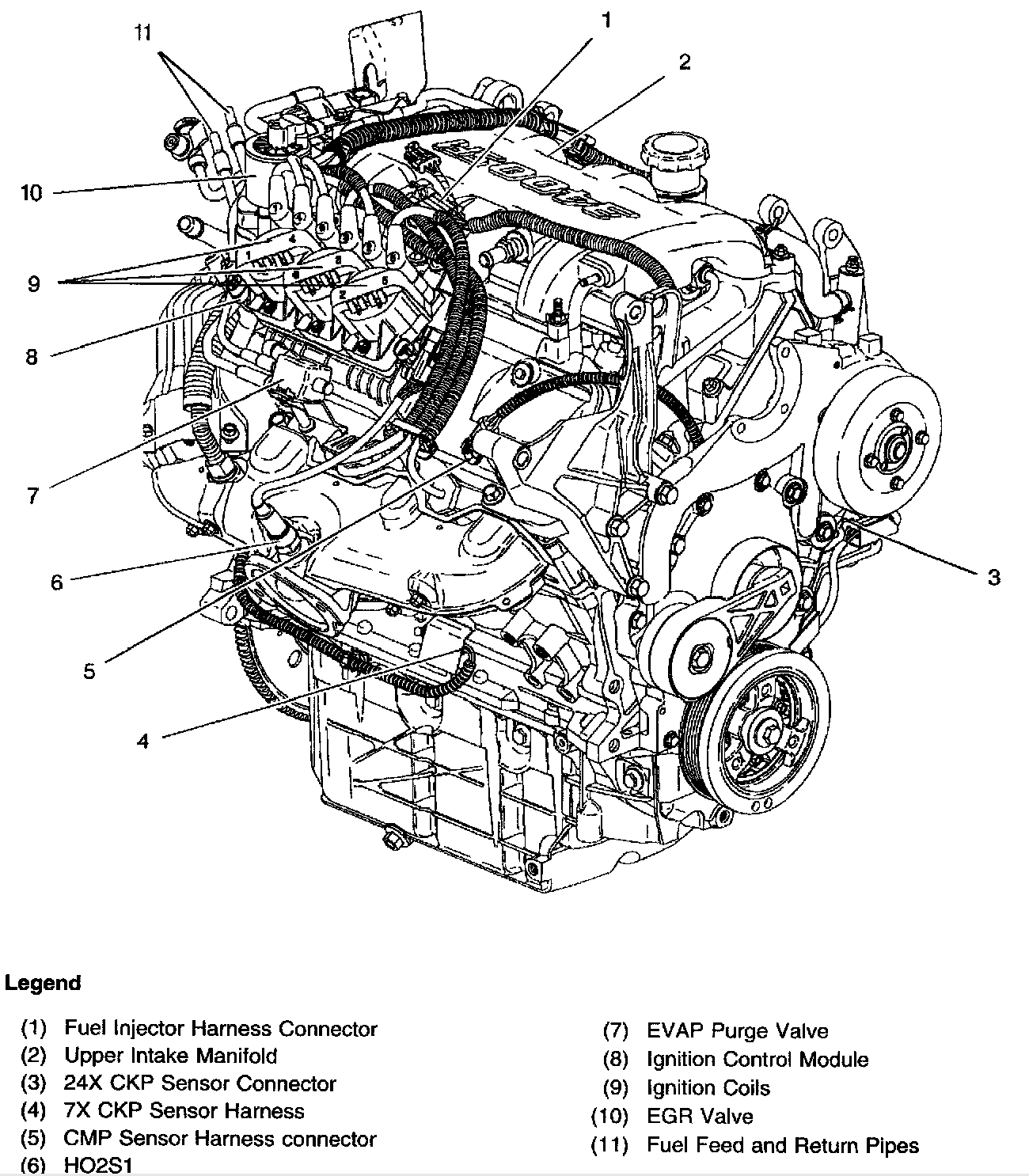 Ohv V6 Engine Diagram
