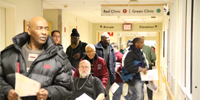 group in hospital