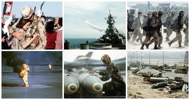 Images from the first Gulf War. Visit www.va.gov for complete information.