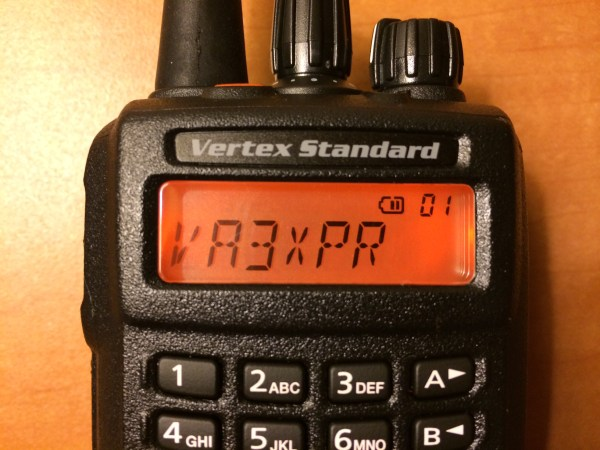 Vertex Standard, Vertex, Standard, eVerge, EVX-539, EVX539, digital mobile radio, DMR, portable, radio, ham radio, amateur radio, VA3XPR, review, reviews, LCD, display, handie talkie