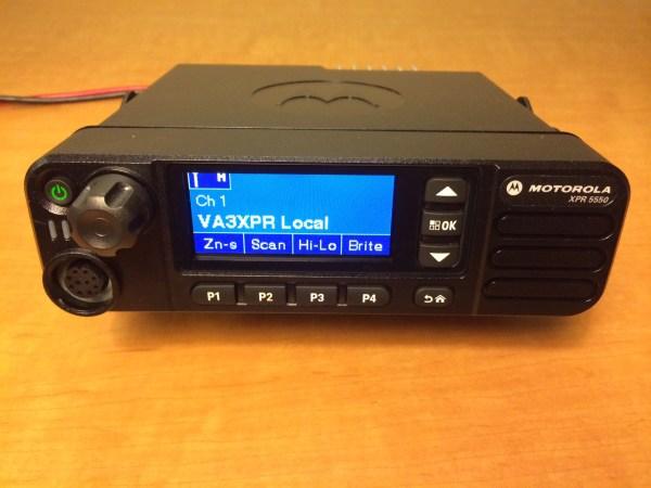 Motorola MOTOTRBO XPR 5550 DMR Radio Review