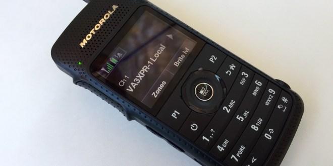 Motorola MOTOTRBO SL7550 UHF portable radio VA3XPR digital mobile ham DMR