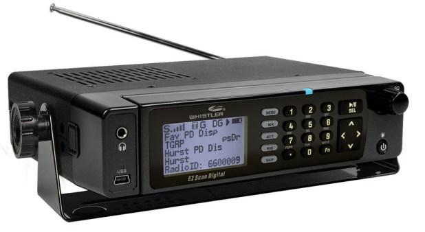 Whister TRX2, scanner, DMR, NXDN