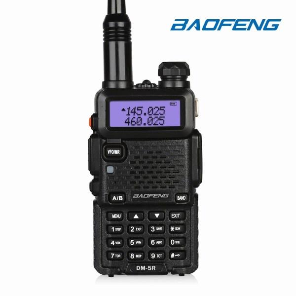 baofeng dm 5r dual band DMR radio VHF UHF portable HT