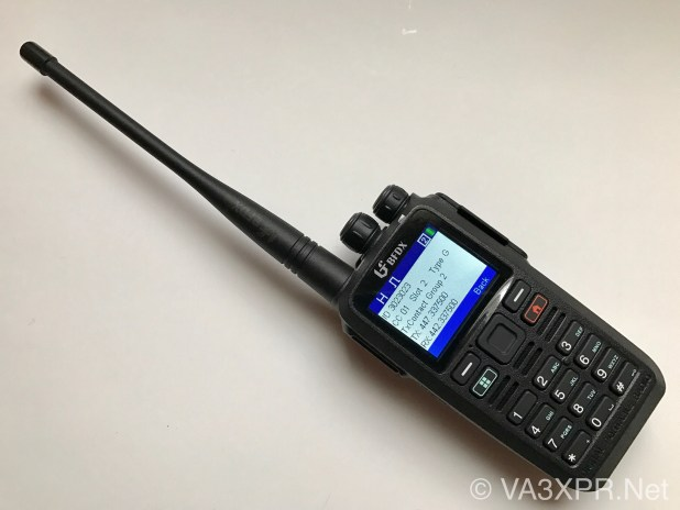 Connect Systems, CS580, UHF, DMR, BFDX, radio