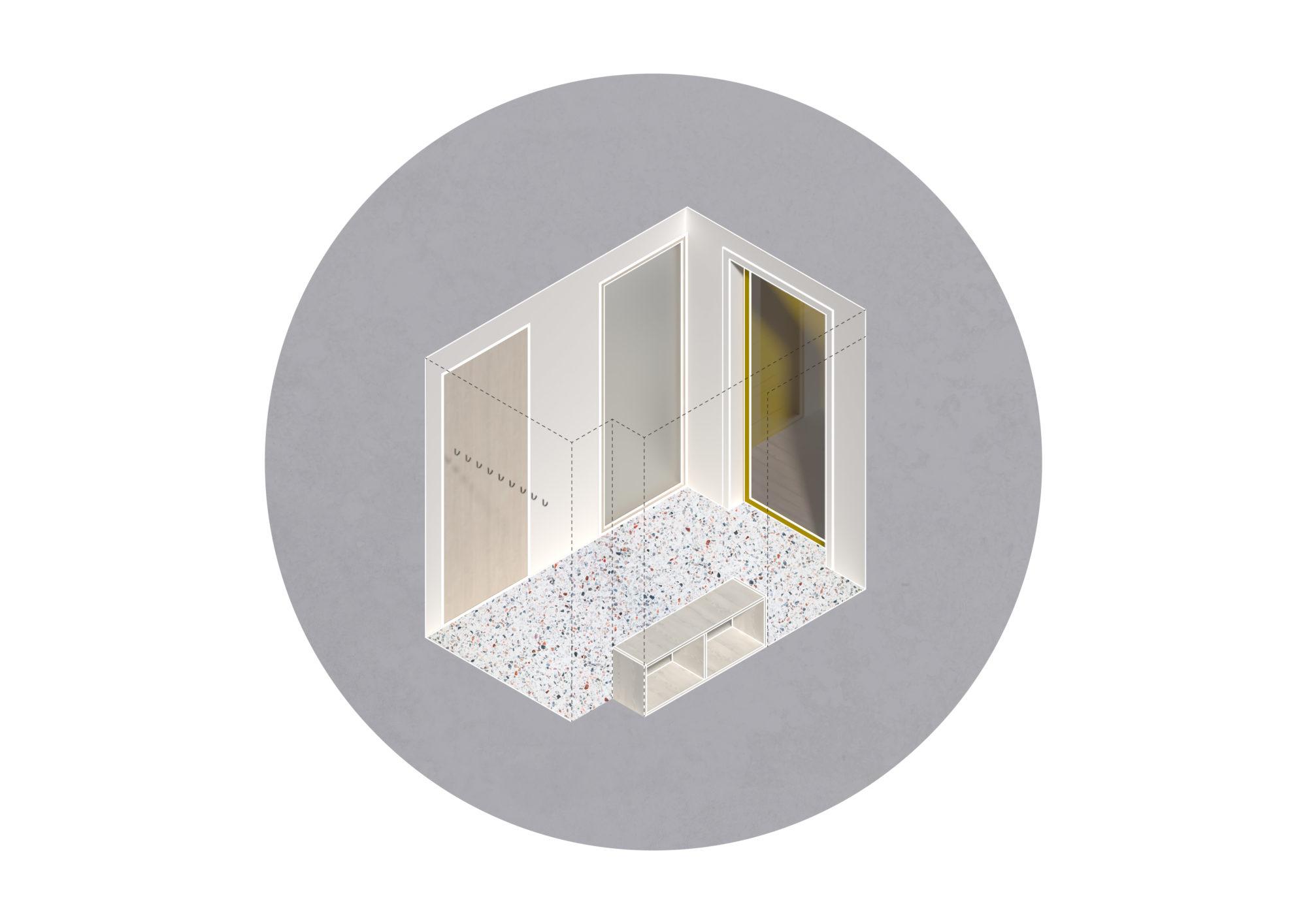 House OH – Axo3 – VAG ARKITEKTUR AS