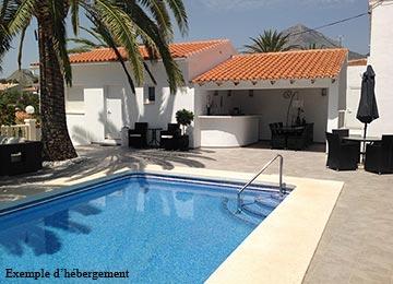 altea ii maisons individuelles avec piscine privee