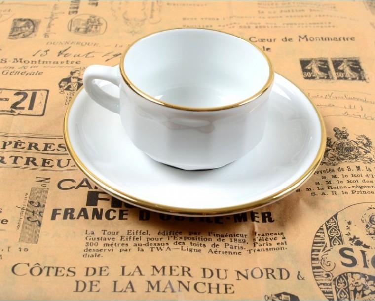 services a cafe bistrot en porcelaine