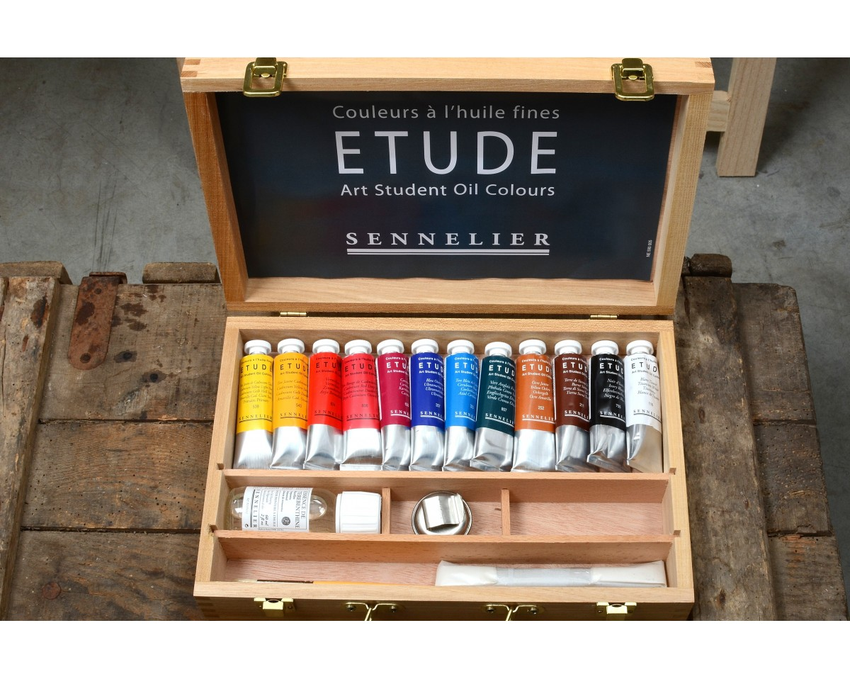 12 Oil Painting Tubes 100 Made In France Vacances