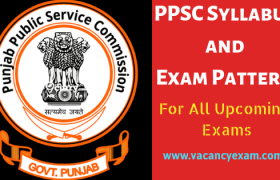 ppsc syllabus exam pattern