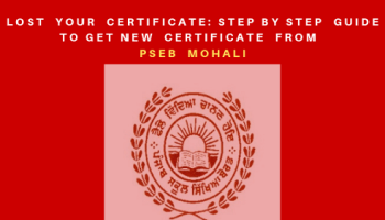 PSEB 12th Result 2019: Punjab Board Class XII Marksheet