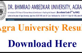 agra university result 2019